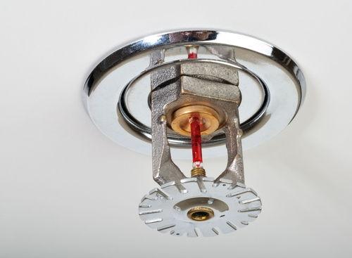 Спринклерный ороситель системы пожаротушения