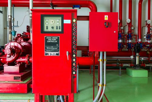 Оборудование насосной станции водяного пожаротушения