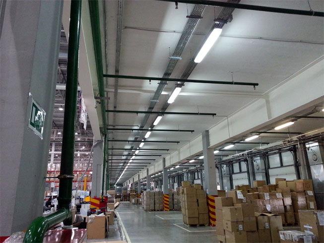 проектирование установок пожаротушение в высотных стеллажных складах